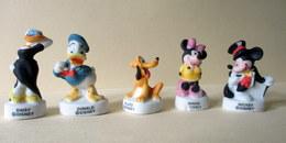Fèves Mates X 5  - Mickey Et Ses Amis De Disney - Disney