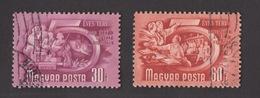 UNGHERIA !!! 1950 LOTTO 30 E 60 FILLER !!! - Ungheria