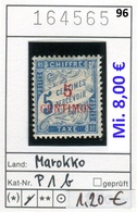 Frankreich - France - Francia - Marokko / Maroc - Michel Porto / Taxe 1 B - * Mh Charn. - Marokko (1891-1956)
