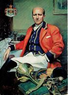 Portrait Du Duc De Brissac En Tenue De Vénerie (avec Cor De Chasse) CP Non écrite - Ecrivains