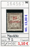 Frankreich - France - Francia - Marokko / Maroc - Michel Porto / Taxe 2 - * Mh Charn. - Marokko (1891-1956)