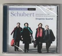 Cd  Schubert  DIOGENES QUARTET  Etat: TTB Port 110 GR - Classical
