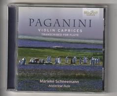 Cd  PAGANINI  VIOLIN CAPRICES   Marieke Schneemann  Etat: TTB Port 110 GR - Classical