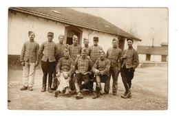 54 MEURTHE ET MOSELLE - NANCY Carte Photo Prise Au 5ème Hussards - Nancy