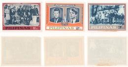 FILIPPINE !!! 1968 LOTTO DI 3 FRANCOBOLLI KENNEDY !!! - Filippine