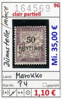 Frankreich - France - Francia - Marokko / Maroc - Michel Porto / Taxe 4 (dünn / Mince / Clair) - * Mh Charn. - Marokko (1891-1956)
