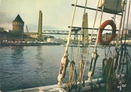 29 - Brest - La Penfeld Et Le Pont-Levant - éd. Jos N° MX 3037 (écrite, [1979]) - Brest