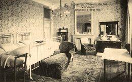 VERVIERS - Hôtel Du Chemin De Fer -  CHAMBRE A DEUX LITS - Verviers