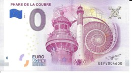 Billets Touristiques 0Euro  2018 Phare De La Coubre Nr 4600 Neuf - Fictifs & Spécimens