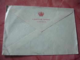 Carlton Hotel Cannes Enveloppe Commerciale - 1900 – 1949