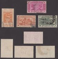 ETIOPIA !!! 1947 LOTTO 4 FRANCOBOLLI 50° ANNIVERSARIO POSTE !!! - Etiopia