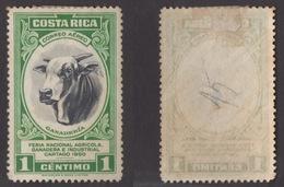 COSTA RICA !!! 1953 1 CTS. FIERA AGRICOLA !!! - Costa Rica