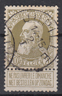 BELGIË - OPB - 1905 - Nr 75 (JUPILLE) - 1905 Thick Beard