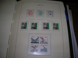 Estonia PO 1992 Natale  Scott.235+236+ See Scan On Leucthurm Page; - Estonia