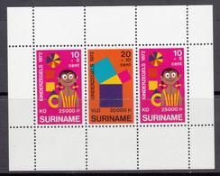 Suriname MNH NVPH Nr Block 12 From 1972 / Catw 2.60 EUR - Suriname