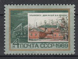 USSR - Michel - 1969 - Nr 3681 - MNH** - 1923-1991 URSS