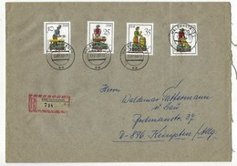DDR - RECO - Beleg Mi-Nr. 2758 + 2760 Etc. - Aufgabeort HALBERSTADT - [6] Democratic Republic