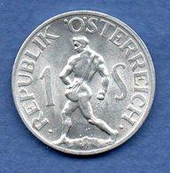 Autriche  - 1 Schilling 1947    -  Km # 2871  -  état  SUP - Autriche