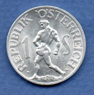 Autriche  - 1 Schilling 1947    -  Km # 2871  -  état  SUP - Oesterreich