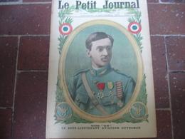Guynemer Aviation Pilote Chien Fidele Tombe Maitre Guerre 14.18 Le Petit Journal Illustree 1916 - Journaux - Quotidiens