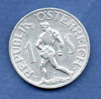 Autriche  - 1 Schilling 1947    -  Km # 2871  -  état  TTB+ - Oesterreich