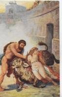AK 0253  Sienkiewicz , H. - Quo Vadis ? / Der Sieg Des Ursus Ca. Um 1920 - Malerei & Gemälde