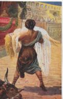 AK 0253  Sienkiewicz , H. - Quo Vadis ? / Ursus Rettet Lygiu Vom Grausamen Tode Ca. Um 1920 - Peintures & Tableaux