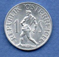 Autriche  - 1 Schilling 1946    -  Km # 2871  -  état  TTB+ - Oesterreich