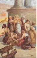 AK 0253  Sienkiewicz , H. - Quo Vadis ? / Christen Im Zirkus Des Nero Ca. Um 1920 - Malerei & Gemälde