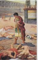 AK 0253  Sienkiewicz , H. - Quo Vadis ? / Nero Besichtigt Seine Opfer Ca. Um 1920 - Malerei & Gemälde
