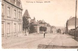 CP.ARLON - Faubourg De Bastogne.éd. Bazar Bruxellois Arlon En 1912. - Arlon