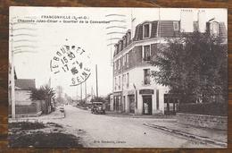 CP FRANCONVILLE Chaussée Jules César - Quatier De La Convention - Franconville