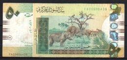624-Soudan Billet De 50 Pounds 2006 FA006 - Sudan