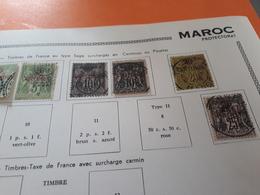 Vrac De Timbres Obliteres - Morocco (1891-1956)