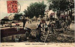 CPA CORBEIL Rue De La Pecherie (860700) - Corbeil Essonnes