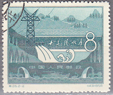 CHINA PEOPLES REPUBLIC   SCOTT NO  378     USED     YEAR  1958 - Used Stamps