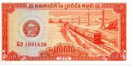 CAMBODGE   Billet 0,50 Riels Bank Banque  TBE Train - Cambodia