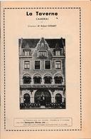LA TAVERNE - Café Restaurant Place D'Armes CAMBRAI - Son Restaurant, Sa Cave, Son ORCHESTRE - Répertoire De L'Orchestre - Historische Documenten