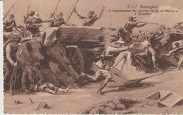 472-Militaria-Guerra Italo-Turca-l' 11° Bersaglieri Si Impadronisce Dei Cannoni Turchi Ad Ain Zara - Libia