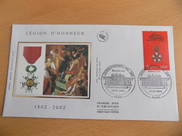 FDC France : La Légion D'Honneur - Paris 18/05/2002 - FDC
