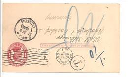 PORTO Hmb1 1913 Auf USA - Allemagne