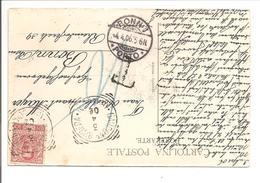 BONN 1 PORTO Auf Italiane 1906 - Briefe U. Dokumente