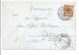 1899 Mi45 EF. AK Leo Graf Von Caprivi Reichskanzler - Cartas