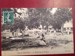 Camp De Chalons Le Remplissage Des Paillasses - Camp De Châlons - Mourmelon