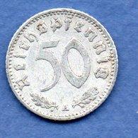 Allemagne- 50 Reichspfennig 1940 A -  Km # 96 -  état  TB+ - [ 4] 1933-1945 : Third Reich