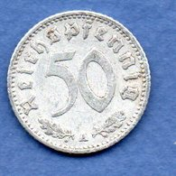 Allemagne- 50 Reichspfennig 1940 A -  Km # 96 -  état  TB+ - [ 4] 1933-1945 : Troisième Reich