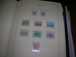 Estonia PO 1993/94 Castelli Vedute  Scott.243a+244+246+247+248+249+250+ See Scan On Leucthurm Page; Nuovi - Estonia