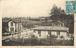 BLONVILLE SUR MER - La Gare Et Vue Générale. - France