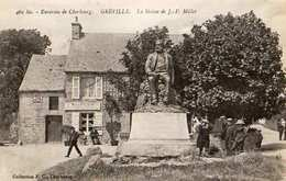 50 -GREVILLE - LA STATUE DE J.F. MILLET - France
