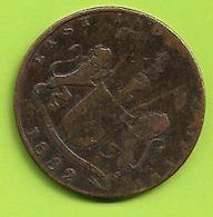 Monnaie INDIA PAISA QUARTER ANNA 1832 BOMBAY PRESIDENCIA  X N052 - Inde